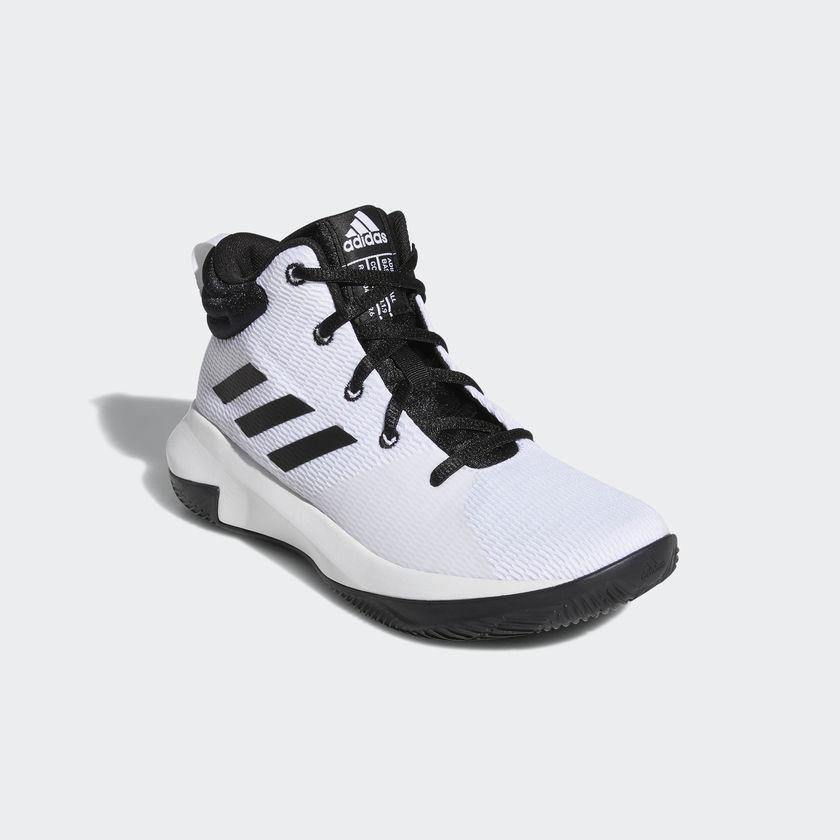 Basketbalové boty ADIDAS Pro Elevate 2018 K Bílé 0dcf09ef98